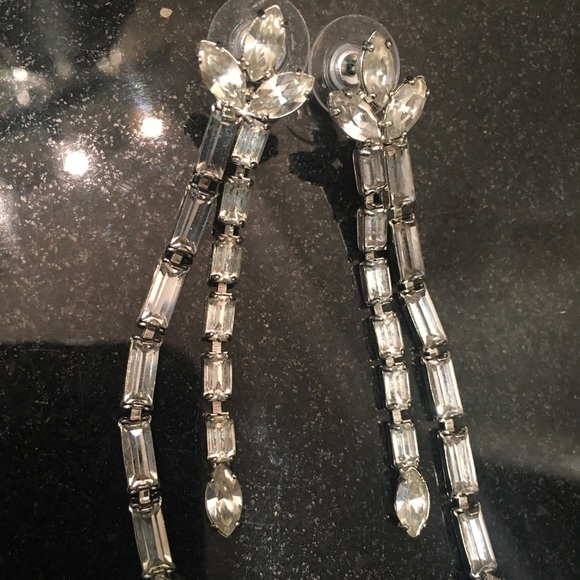 Tom Binns Jewelry - Tom Binns Crystal Drop Earrings